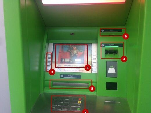 Инструкция по пользования банкомата в ПриватБанке